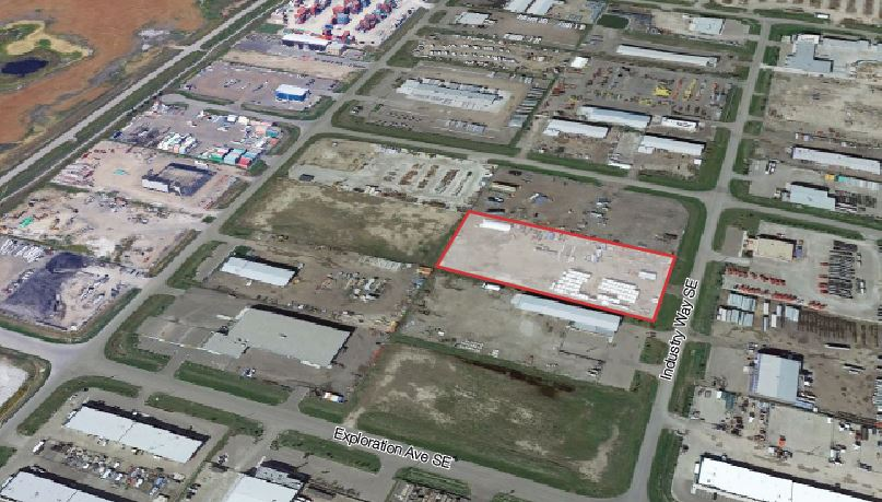 2 Acres of Land For Lease in Calgary