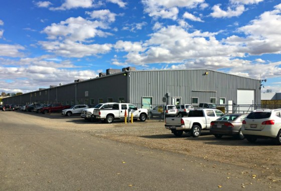 50,000 Square Foot Industrial Warehouse Building in Calgary