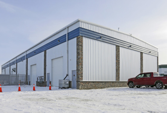 Industrial Building For Sale in Balzac